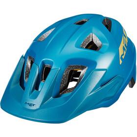MET Echo MIPS Casque, petrol blue matte